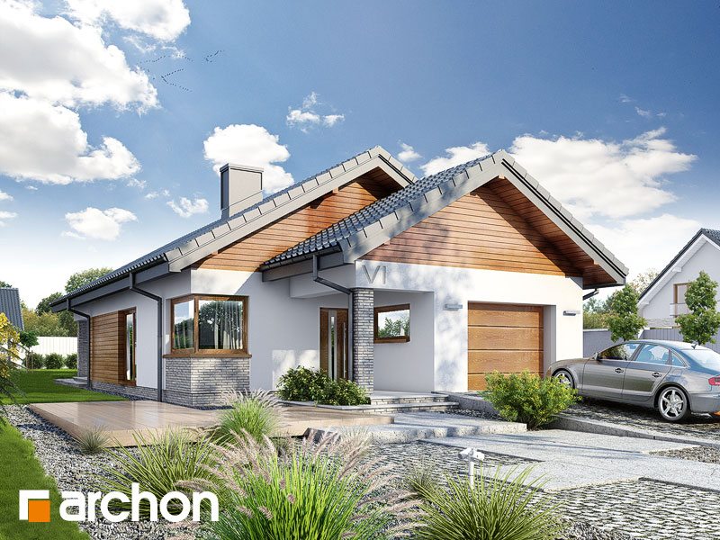 gotowy projekt Dom w liredach widok 1