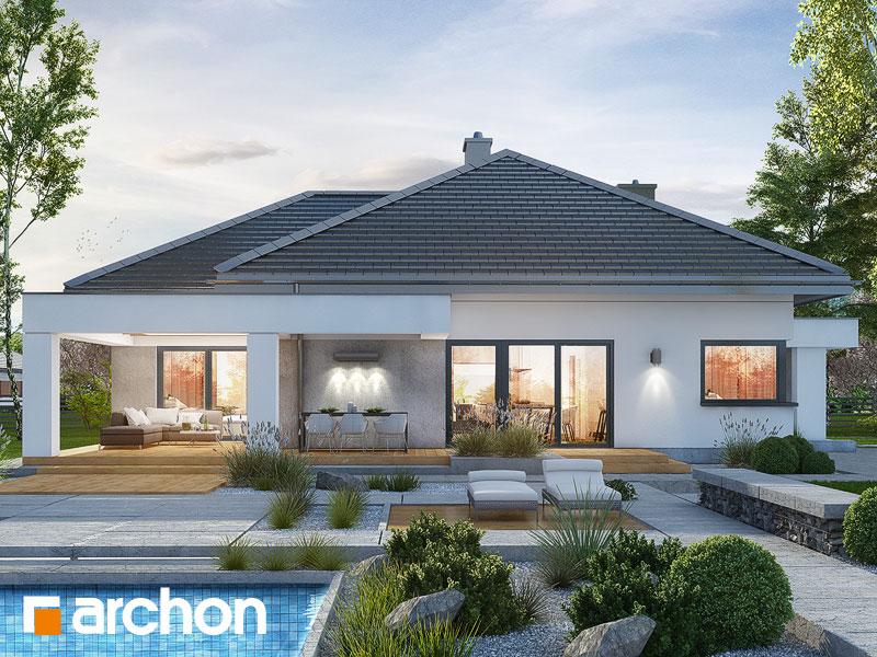 gotowy projekt Dom w nigellach (G) widok 1