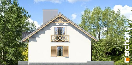 Elewacja boczna projekt dom miniaturka ver 2  265