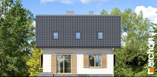 Elewacja ogrodowa projekt dom miniaturka ver 2  267