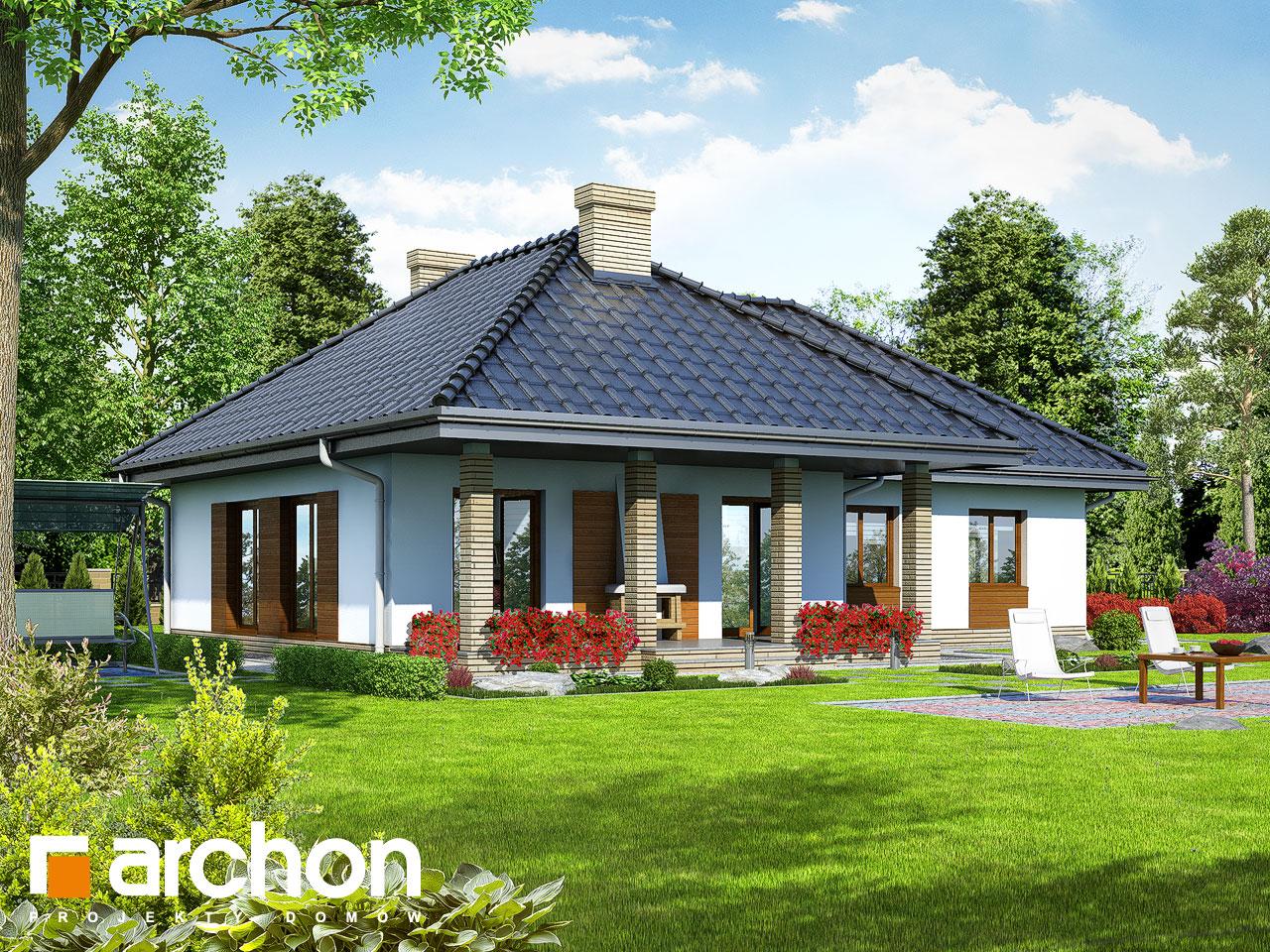 Projekt domu dom w gardeniach ver 2 archon for Domus green