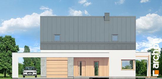 Elewacja frontowa projekt dom w aurorach n  264