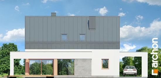 Elewacja ogrodowa projekt dom w aurorach n  267