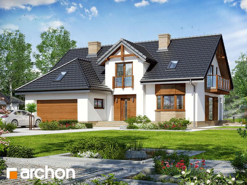 gotowy projekt Dom w kalateach 8 (G2) widok 1
