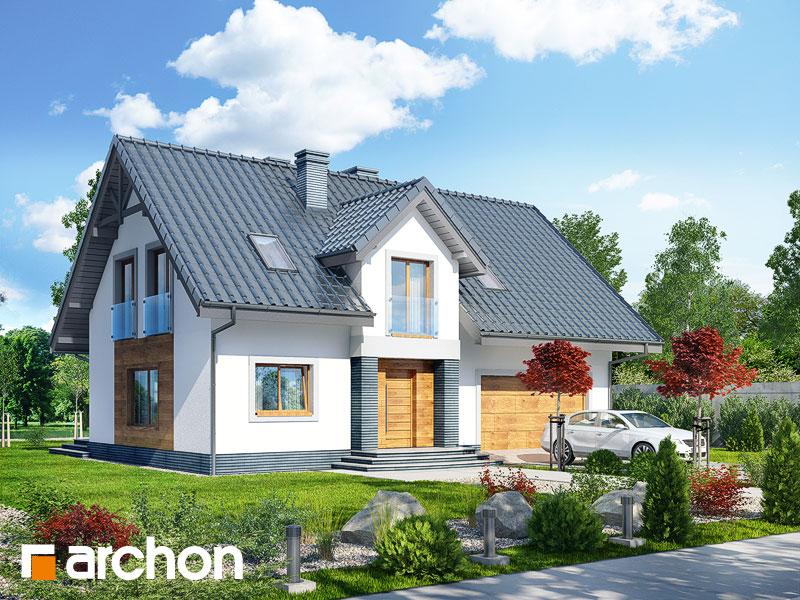 gotowy projekt Dom w lucernie (G2T) widok 1