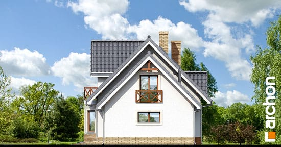 Elewacja boczna projekt dom w zurawinie 2 ver 2  265