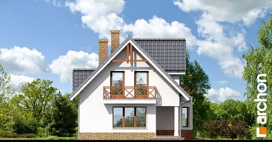 Elewacja boczna projekt dom w zurawinie 2 ver 2  266