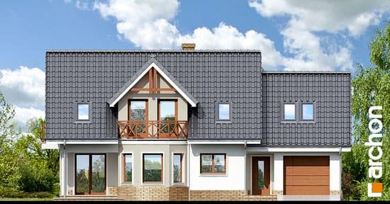 Elewacja frontowa projekt dom w zurawinie 2 ver 2  264