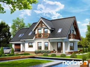 projekt Dom w żurawinie 2 lustrzane odbicie 1