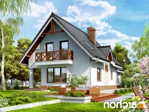 projekt Dom w żurawinie 2 lustrzane odbicie 2