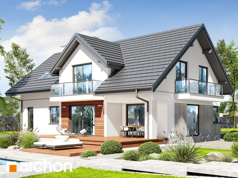 gotowy projekt Dom w kortlandach 4 (G2) widok 1