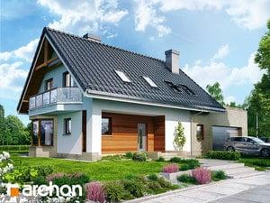 gotowy projekt Dom w dziewannie 2 (G2)
