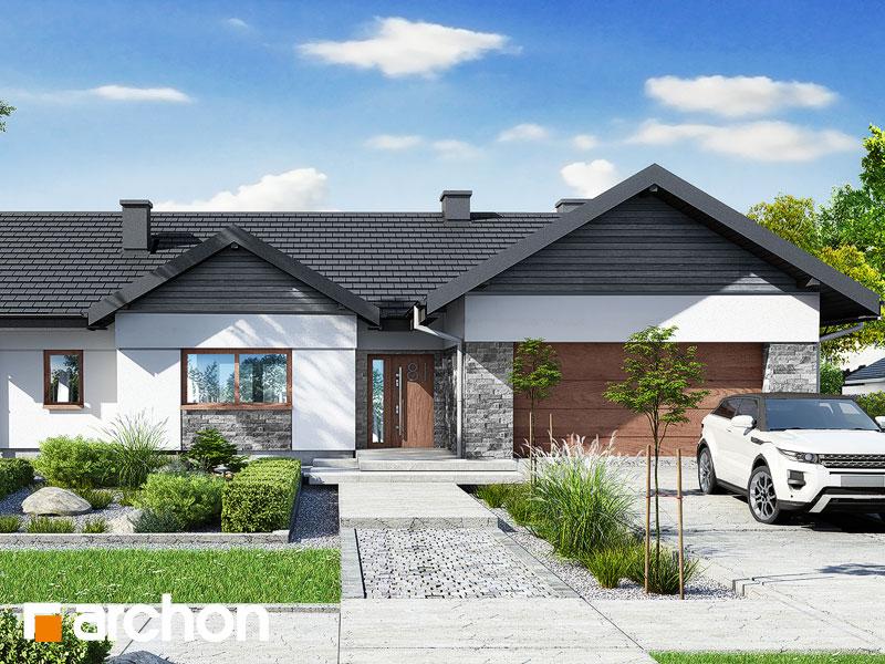 gotowy projekt Dom w nawłociach 4 (G2) widok 1