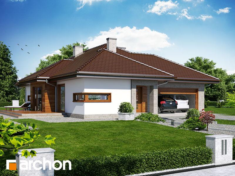gotowy projekt Dom w cyprysikach (G2) widok 1