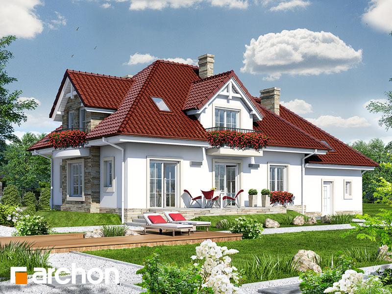 gotowy projekt Dom w kaliach (G2) widok 1