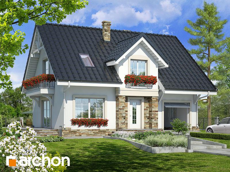 gotowy projekt Dom w lucernie 2 widok 1