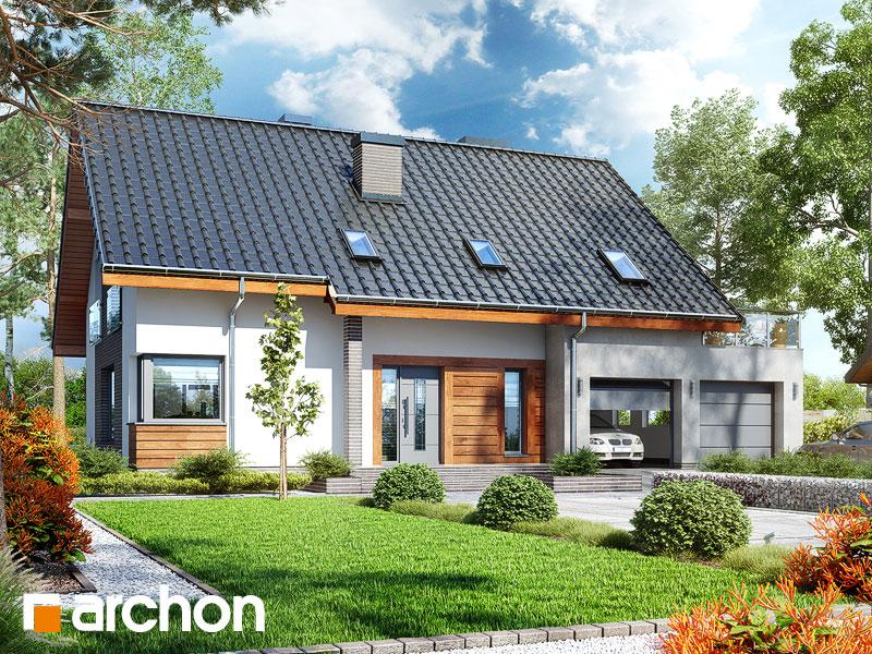 gotowy projekt Dom w złoci 2 (G2) widok 1