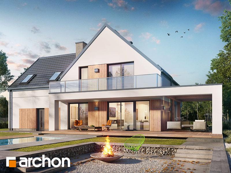 gotowy projekt Dom w amorfach (G2) widok 1