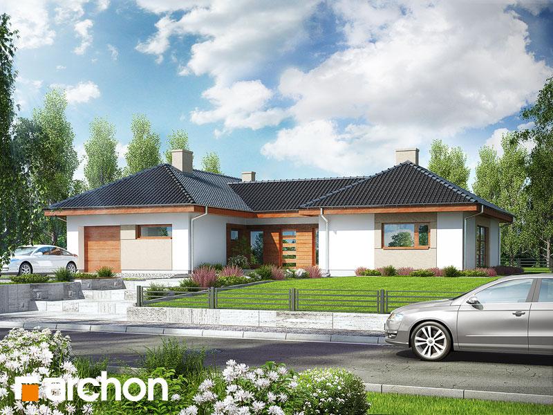 gotowy projekt Dom w kampanulach (M) widok 1