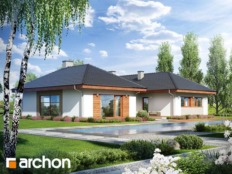 gotowy projekt Dom w kampanulach (M) widok 2