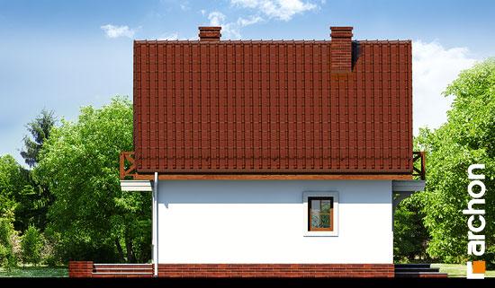 Elewacja boczna projekt dom w rododendronach 11 ver 2  266