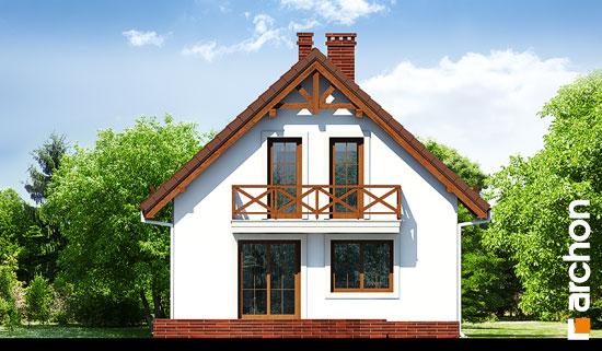 Elewacja ogrodowa projekt dom w rododendronach 11 ver 2  267