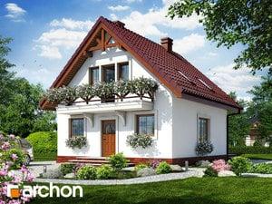 gotowy projekt Dom w rododendronach 11