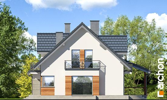 Elewacja boczna projekt dom w tamaryszkach 4 pn  265