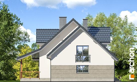 Elewacja boczna projekt dom w tamaryszkach 4 pn  266
