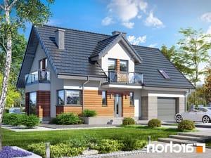projekt Dom w tamaryszkach 4 (PN) lustrzane odbicie 1