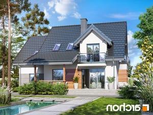 projekt Dom w tamaryszkach 4 (PN) lustrzane odbicie 2