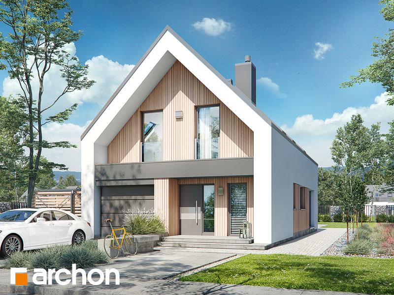 gotowy projekt Dom w papawerach (A) widok 2