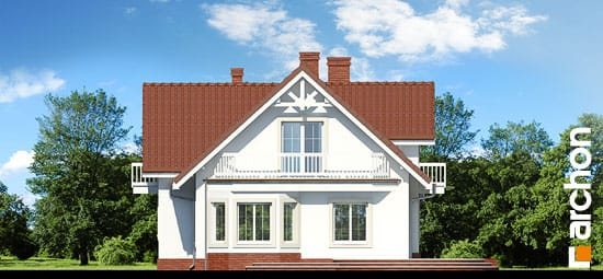 Elewacja boczna projekt dom w lobeliach ver 2  265
