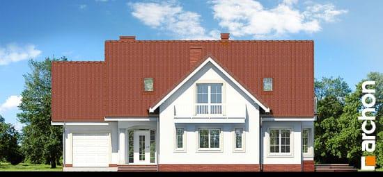 Elewacja frontowa projekt dom w lobeliach ver 2  264