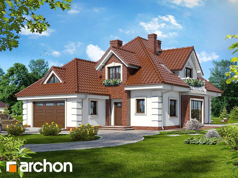 gotowy projekt Dom w orchideach (P) widok 1