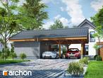 projekt Wiata garażowa W3 Stylizacja 3