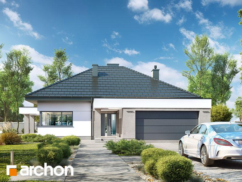 gotowy projekt Dom w nigellach 2 (G2) widok 1