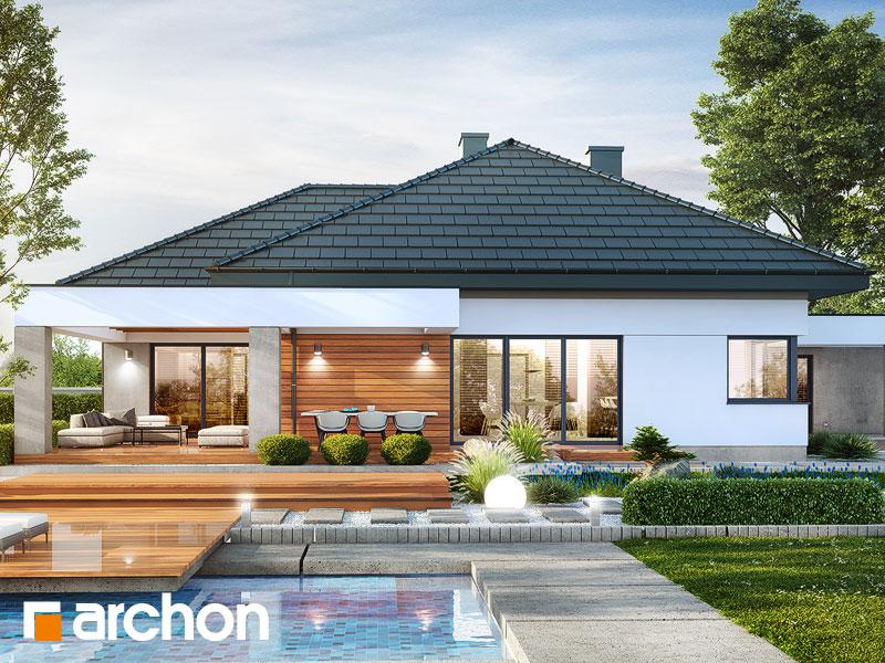gotowy projekt Dom w nigellach 2 (G2) widok 2
