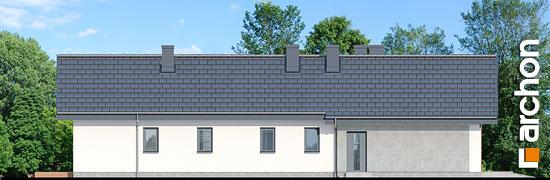 Elewacja boczna projekt dom w grandarosach g2  265