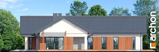 Elewacja boczna projekt dom w grandarosach g2  266