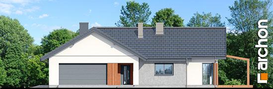 Elewacja frontowa projekt dom w grandarosach g2  264
