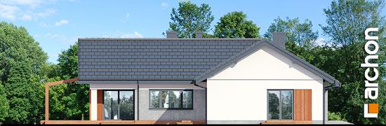Elewacja ogrodowa projekt dom w grandarosach g2  267