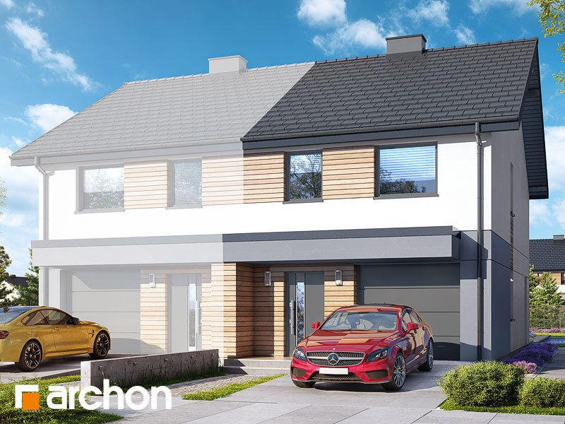 gotowy projekt Dom w riveach 6 (GB) widok 1
