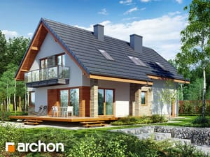 projekt Dom w idaredach 5 (A)