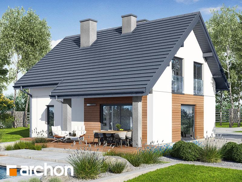gotowy projekt Dom w lucernie 8 widok 2