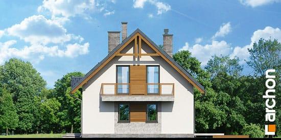 Elewacja boczna projekt dom w poziomkach 3 ver 2  265
