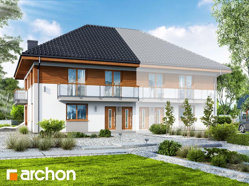 gotowy projekt Dom w kalwilach 2 (B) widok 1