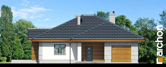Elewacja frontowa projekt dom w jonagoldach ver 2  264