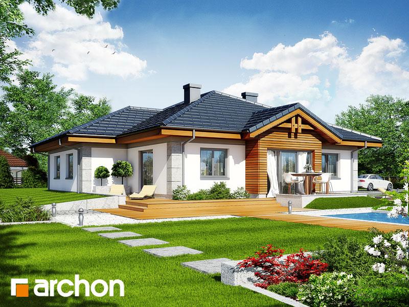 gotowy projekt Dom w jonagoldach widok 2