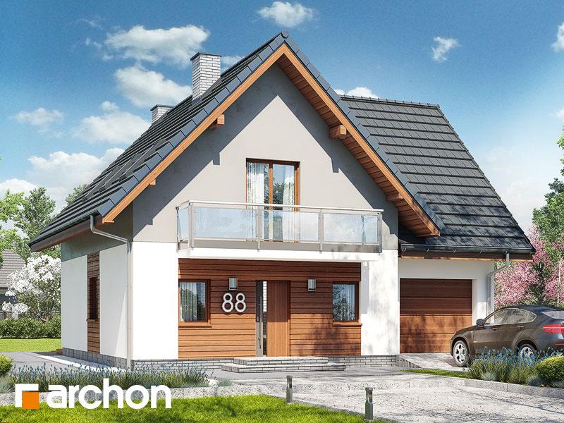 gotowy projekt Dom w sasankach 3 (G) widok 1